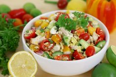 Vegetable Orzo Salad