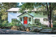 Converted c.1760 Barn! Spectacular Example of Early American Arch. Beautifully & skillfully renovated, preserved & modernized w/the finest materials & style. Situated on .72 acres of level property, this 6 bed, 3 bath home is embellished w/many Orig. Structural features such as exposed Post & Beams, Wide Plank floors & Cathedral ceilings thruout entire house, gas fireplace. Foyer has Hudson River Brick floor w/radiant heat. Enjoy the luxury of a Gourmet kitchen w/custom ...