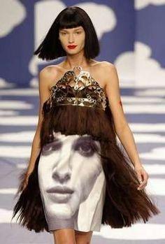 Designer: Jean-Charles de Castelbajac (JC/DC) - Spring/Summer 2009 - Costume idea!