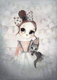 Illustration Miss Emma - The forgotten Tivoli - fée pas ci, fée pas ça