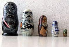 matryoshka dolls Star Wars style