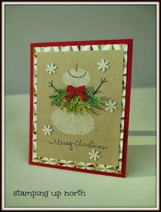 stamping up north: Stampin Up Snow Day
