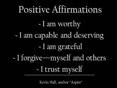 Positive Affirmations positive-thinking personal-development