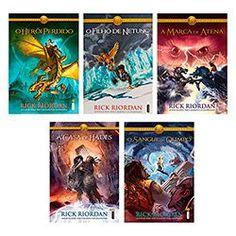 Kit Livros - Série Os Heróis do Olimpo (5 Volumes)