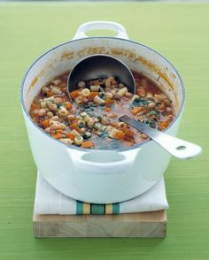 See the Bean and Pasta Soup in our Soups and Stews gallery