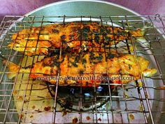 Ikan Bakar Padang Rice Recipes, Seafood Recipes, Asian Recipes, Bread Recipes, Ethnic Recipes, Recipies, Indonesian Food, Indonesian Recipes, Padang