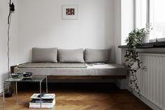 Hjemmelavet sofa