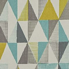 geometric home dec pattern from Next Directory