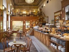 Cafe Savoy Restaurant , Prague - since Rich breakfasts and gourmet menu. It´s own bakery. Pork And Cabbage, Braised Cabbage, Braised Pork, Beef And Pork Burgers, Beef Schnitzel, Coffee Republic, Prague Restaurants, Her Packing List, Pork Cheeks