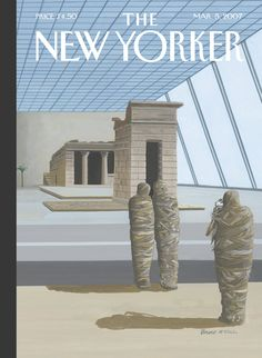 """The New Yorker - Monday, March 5, 2007 - Issue # 4205 - Vol. 83 - N° 2 - Cover """"Say Cheese"""" by Bruce McCall"""