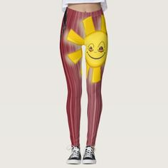 Sun Leggings - yoga health design namaste mind body spirit