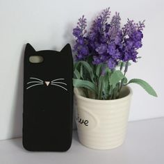 Cat Face iPhone Case – PurrMart
