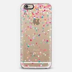 colorful confetti party explosion - casetify iphone case