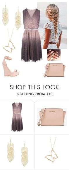 """""""Summer Vibes (kinda out of season)😂"""" by paoladouka on Polyvore featuring Charlotte Russe and MICHAEL Michael Kors"""