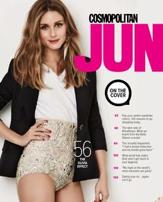 Olivia Palermo for Cosmopolitan Australia June 2015