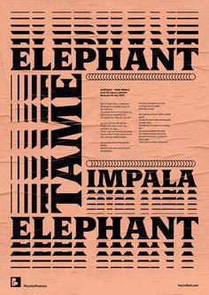 tame impala / elephant