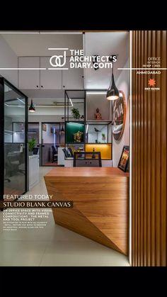 Modern Office Design, Modern Kitchen Design, Office Workspace, Study Office, Office Decor, House Ceiling Design, House Design, Interior Architecture, Interior Design
