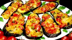 Tasty Vegetarian Recipes, Veggie Recipes, Cooking Recipes, Healthy Recipes, Veg Dishes, Vegetable Dishes, Zucchini, Bulgarian Recipes, Eggplant Recipes