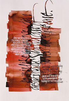 Slightly out of tune / 55.5 x 44cm / Tiralíneas, pincel y pluma metálica sobre papel Fabriano Corona / 2001