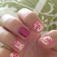 """""""Its a boy"""" or """"its a girl"""" Gender Reveal Jamberry Nail wraps! Send me a message if you would like to buy. They are special order but I keep some in stock. my email is denee@pregnancypiercings.com my Jamberry nails website link is www.bestmanicure.jamberrynails.net"""