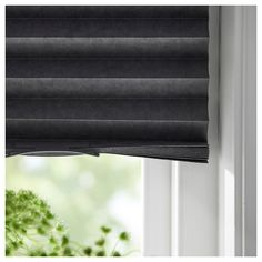 SCHOTTIS Block-out pleated blind, dark grey, cm. With block-out blinds you won't get your sleep disturbed by moonlight and street lights - or be woken by the sun when you want to sleep in late. Blinds For You, Blinds For Windows, Curtains With Blinds, Grey Blinds, Curtains Living, Window Blinds, Types Of Blinds, Best Blinds, Ikea