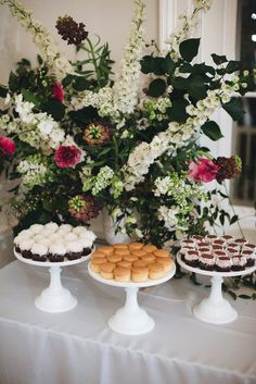 Must try delicious mini cupcakes from Sugar Bakeshop in Charleston, SC. | Over the Moon #OTMWeddings
