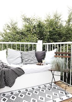 inspiration for my boho outdoor space on the deck
