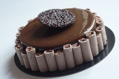 Entremets Archives - Page 2 sur 2 - Olivia Pâtisse Tasty Chocolate Cake, How To Make Chocolate, Chocolate Recipes, Blog Patisserie, Custard Desserts, Arabian Food, Chocolate Decorations, Something Sweet, Dessert Recipes