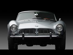 1958 BMW 507 Series II Roadster The ultimate driving machine. Made over a half-century ago.