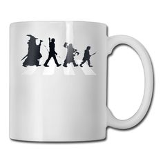 Lord of the Rings Abbey Road Crossing coffee mug variety car tazas ceramic tumbler caneca tea Cups Radagast The Brown, An Unexpected Journey, Abbey Road, My Precious, Lord Of The Rings, Middle Earth, Lotr, The Hobbit, Tumblers