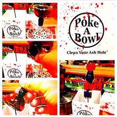 """""""exactly what you need, exactly when you need it"""" - @jimmyxg on Instagram ✌️  www.pokeabowl.com - clean your ash hole®"""
