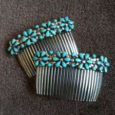 These vintage Navajo combs would look beautiful in a wedding updo!