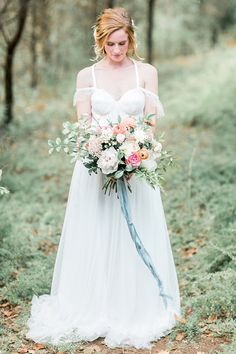 Wedding Styling Ideas Details Decor Planning Advice Off Shoulder Dress Gown Bride Bridal http://dyannalamora.com/