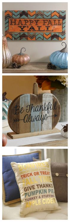 Express yourself this fall with fun sayings and quotes for your home! Say is with sass, focus on the feeling or go all-in on autumn. Read our blog for more fun ideas!