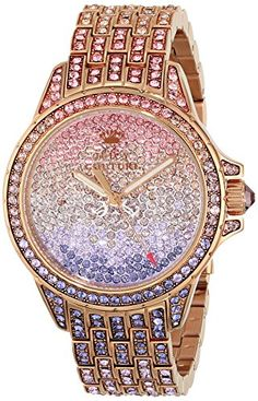 Juicy Couture Women's 1901167 Stella Analog Display Quartz Multi-Color Watch Juicy Couture http://www.amazon.com/dp/B00IM5CHYM/ref=cm_sw_r_pi_dp_bJBgvb1P7PKQC
