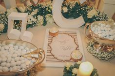 Candy bar ph: Fashion Studio Wedding Photographers www.annacaramante.com