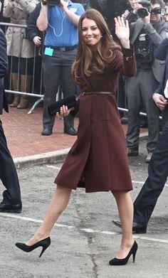 Pregnant Kate Middleton Visits Grimsby's
