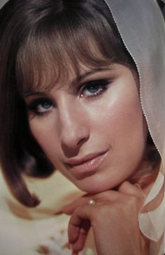 Barbra Streisand, beautiful photo of her.