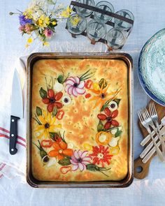 Healthy Cooking, Cooking Recipes, Bread Art, Thanksgiving Side Dishes, Galette, Food Gifts, Food Menu, Food Hacks, Coco