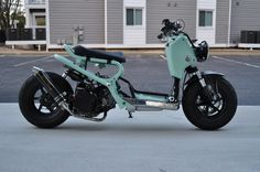 "Honda Ruckus ""Mint Condition""  Totally awesome Ruckus, that's how I want mine to look like !!"