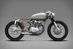 One of our favorite custom motorbikes ever is the spectacular BMW by Vagabond Moto. Today we showcase another work of art by the Austrian duo, designer Paul Brauchart and mechanical engineer Philipp Rabl - the 1972 Honda Cafe Racer, a Cafe Racer Honda, Cb 450 Cafe Racer, Custom Cafe Racer, Cafe Racer Build, Cafe Racer Motorcycle, Cafe Racer Tank, Honda Motorcycles, Vintage Motorcycles, Custom Motorcycles
