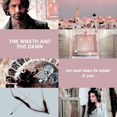 She was a dangerous, dangerous girl. A plague. A Mountain of Adamant who tore the iron from ships, sinking them to their watery graves without a second thought. With a mere smile and a wrinkle of her nose. (The Wrath and the Dawn)
