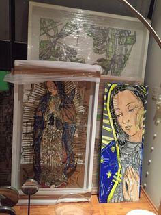 Eva Vale Artista plástico especializada en dibujo, quien plasma gran fuerza, vitalidad y sensibilidad en su obra.  Fotografías tomadas en el estudio de la artista   www.evavale.net  #evavale #arte #art #dibujo #drawing #mexicanartist #artemexico #color #gael #pasionporelarte #galeriartenlinea