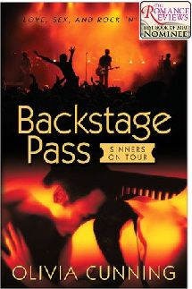 Backstage Pass by Olivia Cunning. Rock stars, music and love.