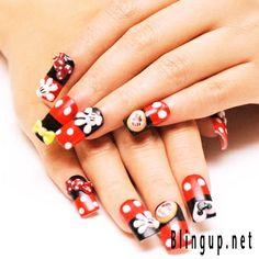 Watermelon fingernails by ~BerryMouse on deviantART
