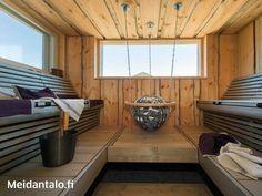 Saunaofen Globe mit Deckenaufhängung und Schutzgeländer - Nähere Informationen unter http://www.wellness-stock.de/Harvia-Saunaofen-Globe #sauna #saunaofen #harvia #globe #heater kelosauna_3.jpg (640×480):