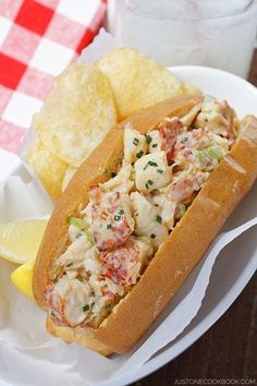 Lobster roll. YUM.