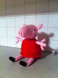 Image result for FREE Peppa Pig Toy knitting pattern