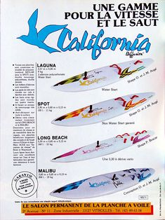 California planches a voile 1984