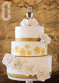 Gold First Communion Party Ideas   Photo 6 of 28